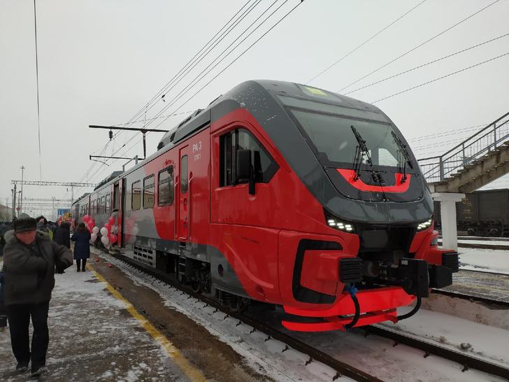 ГЖД запустила первый рельсовый автобус РА-3 между городами Владимирской области