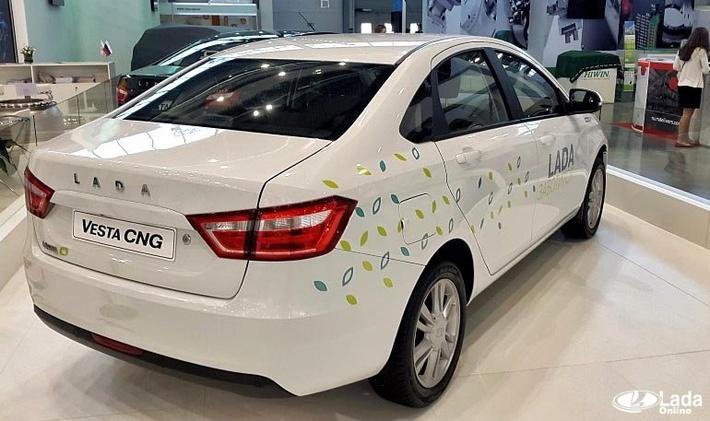 Начался серийный выпуск автомобилей Лада Веста с ГБО
