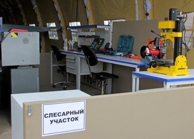 Мастерская мобильного авиационного ремонтного комплекс
