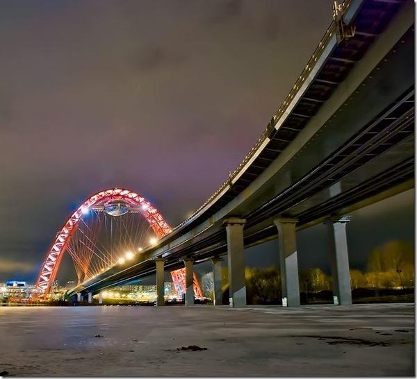 """Мост """"Живописный"""", г. Москва, Тип покрытия: Металлизация, Антикоррозионные покрытия"""