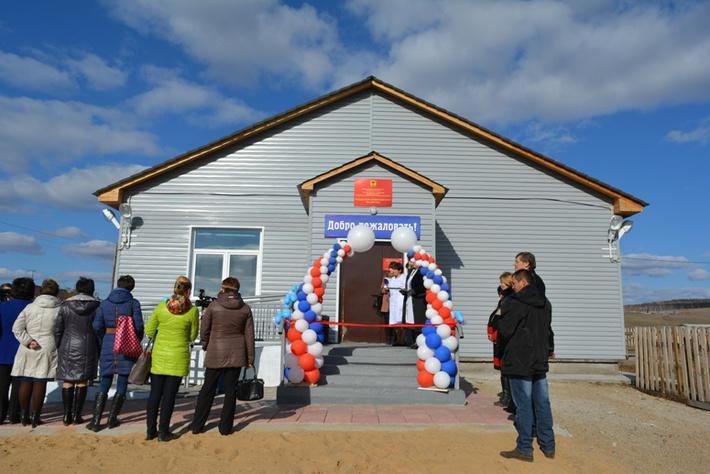 Сельский ФАП с жильем для фельдшера почти за 8 млн р открыли в Забайкалье