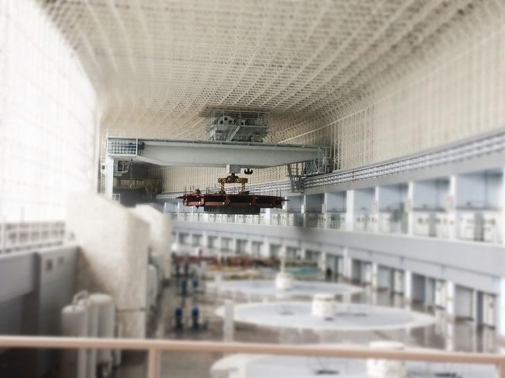 Реконструкция полукозловых крановгрузоподъемностью 500 тонн для «Саяно-Шушенской ГЭС имени П.С. Непорожнего»