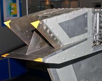 Один из экспериментальных ГПВРД, созданных в ЦИАМ