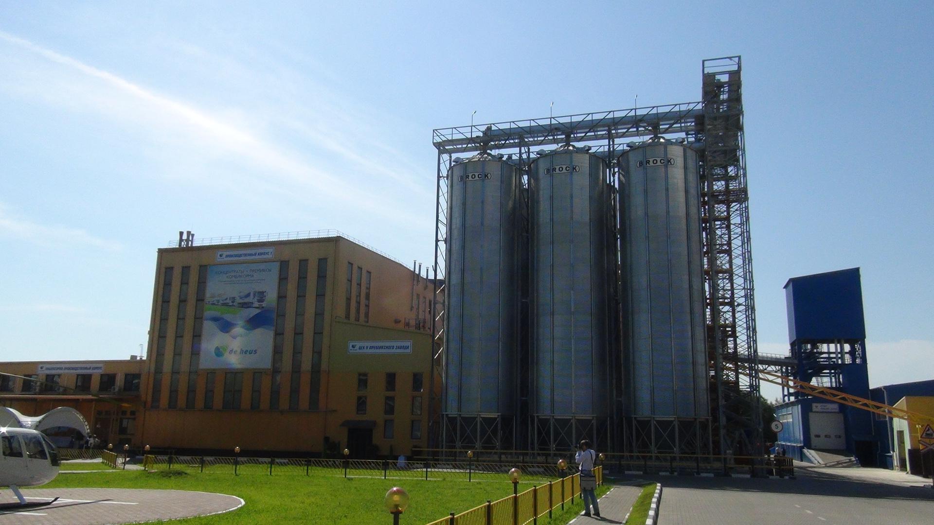 НГ: Новый завод по производству растительного масла в.