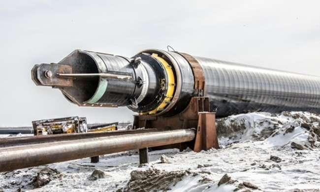 Резервную нитку нефтепровода Заполярье - Пурпе протянули через реку Таз