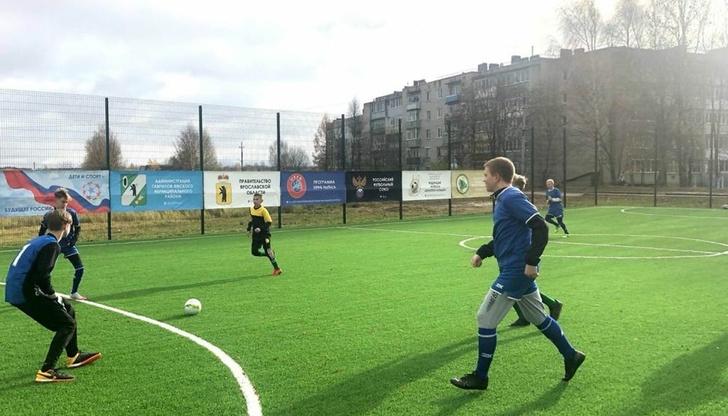 В Гаврилов-Яме и селе Великом открыли новые спортивные площадки