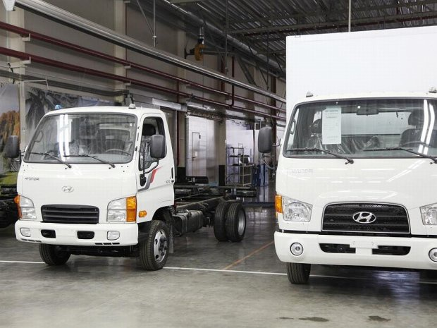 Грузовики hyundai hd78 начал экспортировать завод «автотор»