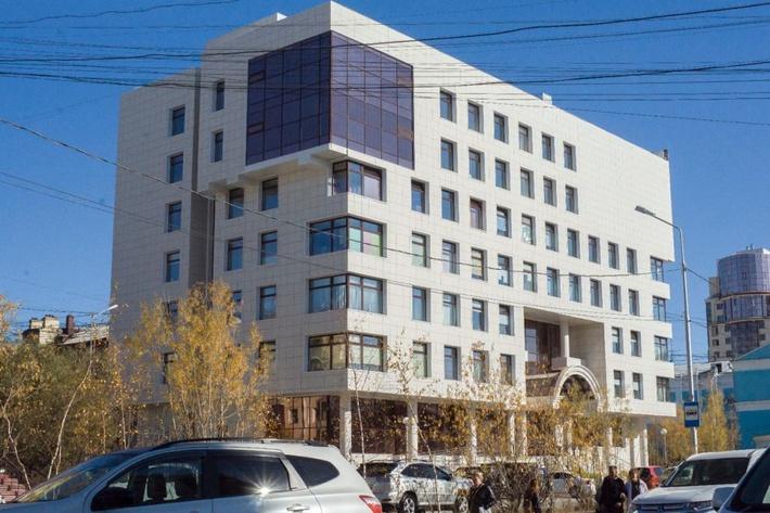 Схема здания в якутске