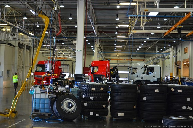 Завод Renault Trucks Калуга