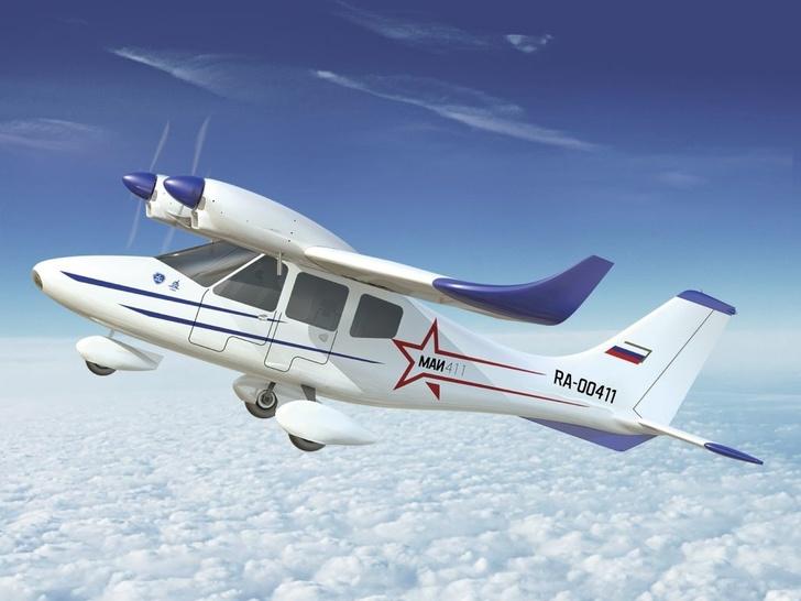 В Дагестане первый полет совершил самолет местного производства