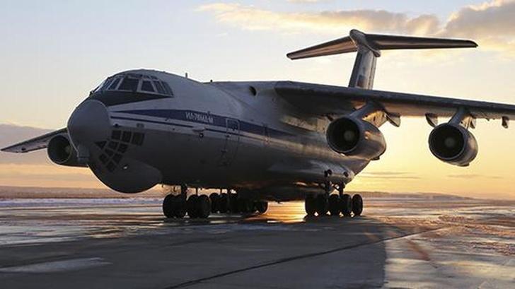 Первый модернизированный Ил-76МД-М передали Минобороны России
