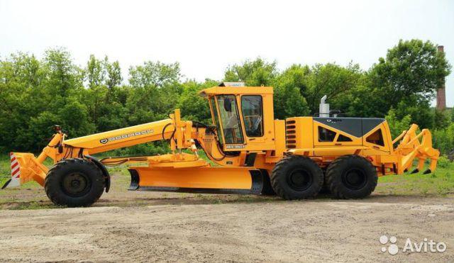 тяжёлый автогрейдер DZ-298