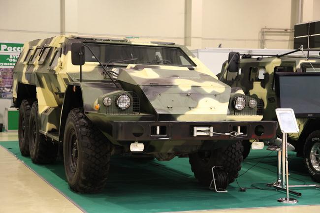 Специальный бронированный автомобиль СБА-60-К2 Булат на узлах и агрегатах КАМАЗ-5350
