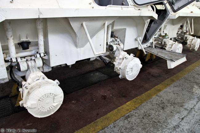 Элементы шасси БТР-80