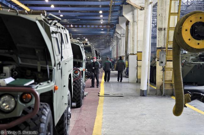 Экскурсия на Арзамасский машиностроительный завод 2013.