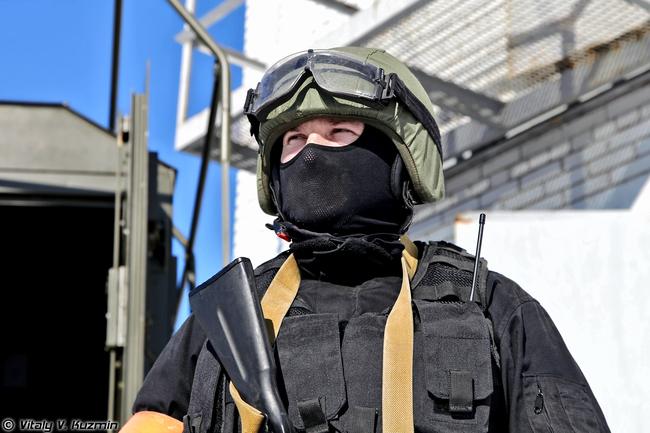 Военнослужащий 604-го ЦСН ВВ МВД России