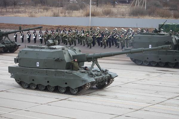 2С35 Коалиция-СВ (152mm self-propelled gun 2S35 Koalitsiya-SV)