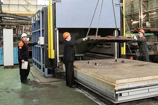 На Уралвагонзаводе введена в эксплуатацию электропечь