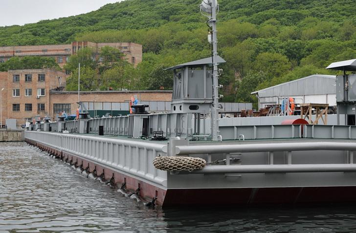 Два плавучих причала для Тихоокеанского флота построили в Приморье