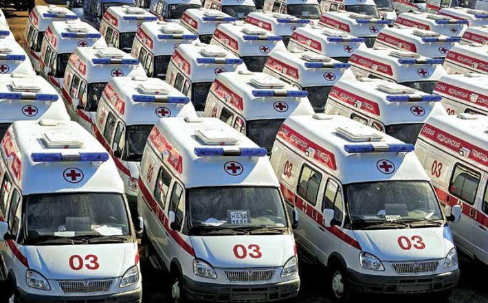 Фото медицинских автомобилей Газель