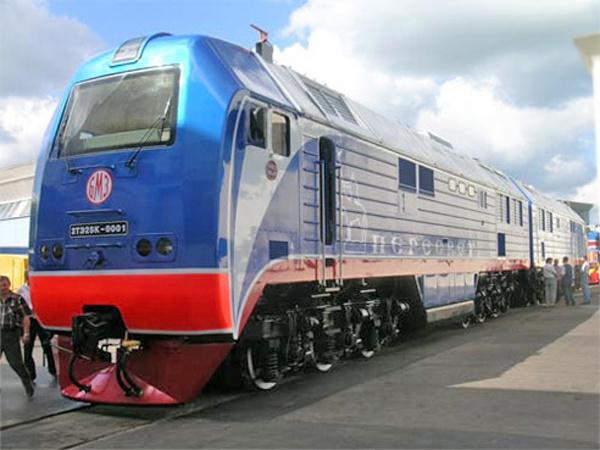 Магистральный тепловоз 2ТЭ25КМ. Иллюстрация: railblog.ru