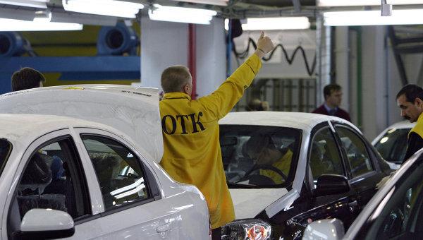 Сборка автомобилей Opel и Сhevrolet на предприятии группы компаний Автотор в Калининградской области