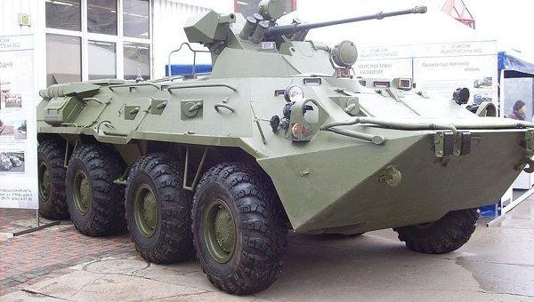 Бронетранспортер БТР-80А