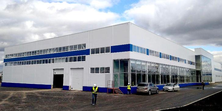 Открылся складской комплекс в Московской области