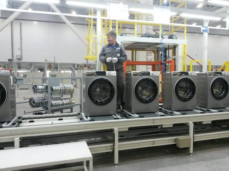 В Набережных Челнах открылся завод стиральных машин