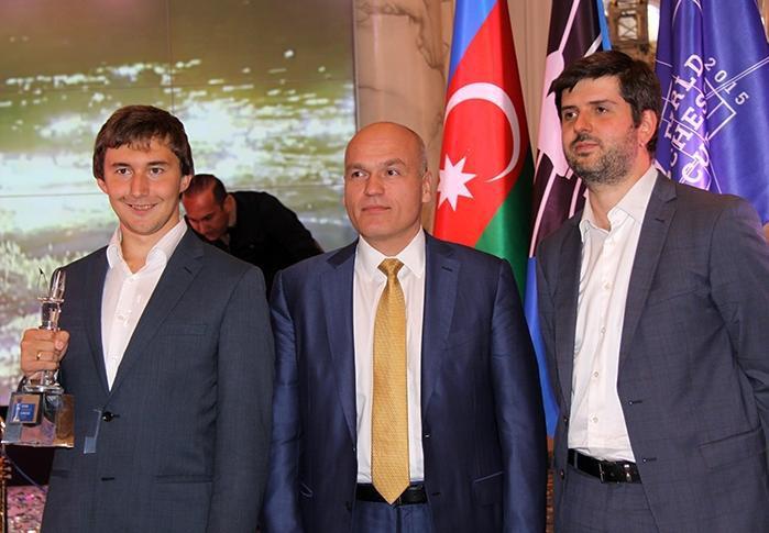 Сергей Карякин - победитель Кубка мира ФИДЕ-2015