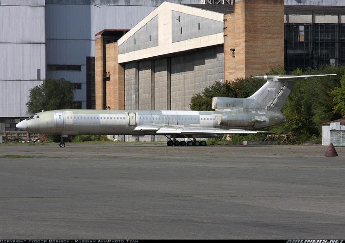 Один из недостроенных на «Авиакоре» планеров Ту-154М. Фото: Федор Борисов / airliners.net.
