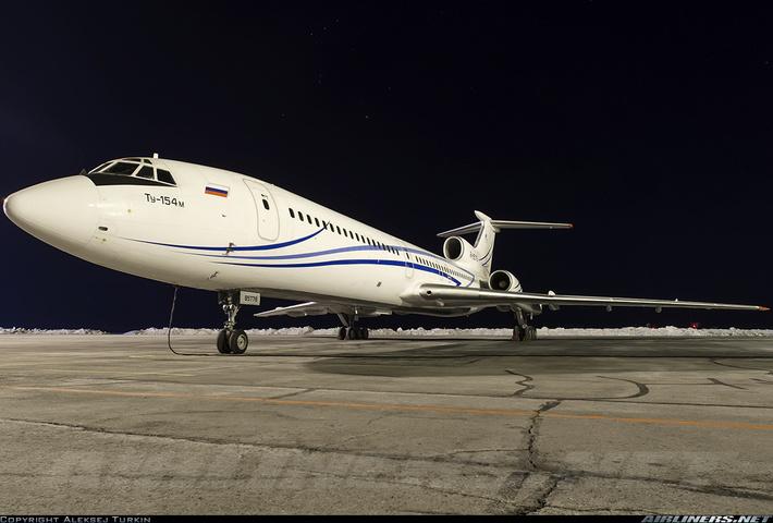 Ту-154М Газпромавиа