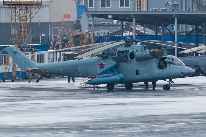 Перспективный скоростной вертолет на базе Ми-24К