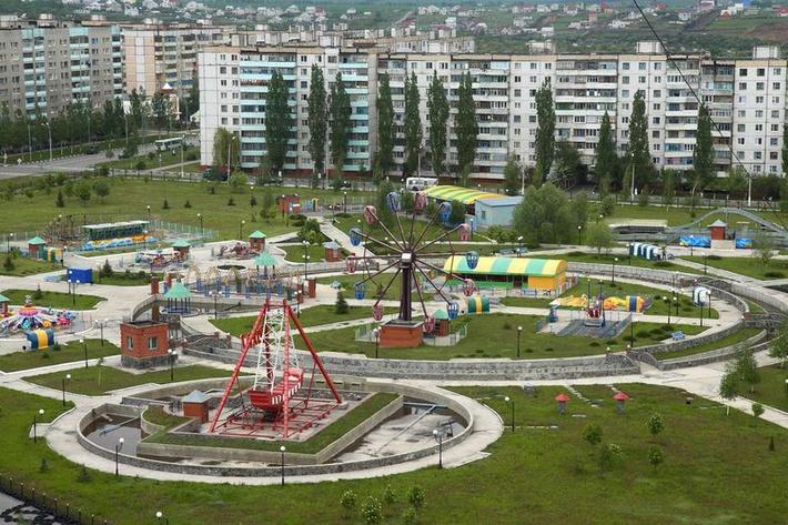 Губкин - жемчужина Курской Магнитной Аномалии города, фото