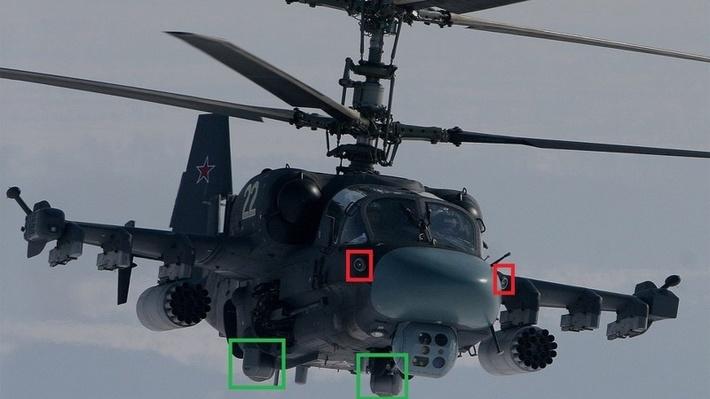 """А вот так """"Витебск"""" реализовали на ударных вертолетах Ка-52"""