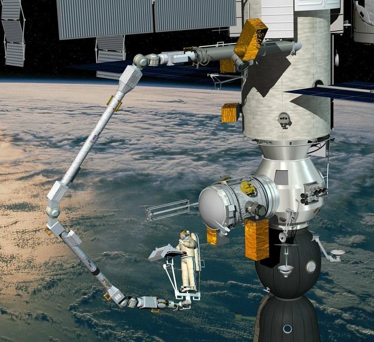 Еще одна важная система на борту «Науки» – манипулятор.