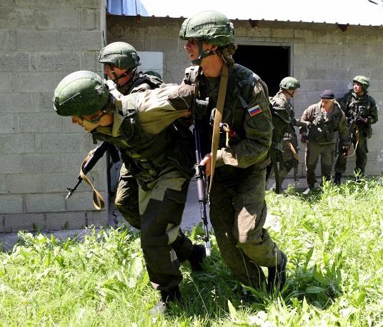 Совместные военные учения Киргизии и России