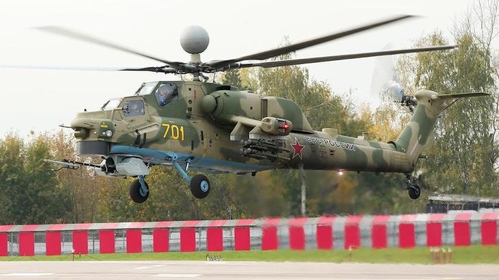 «Ночной суперохотник» Ми-28НМ успешно испытали в Сирии