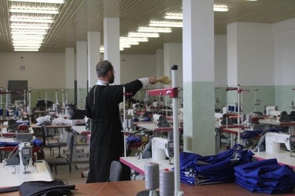 В исправительной колонии №5 в Брянской области открыли швейный участок