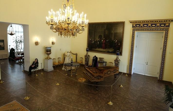 Лионский зал Екатерининского дворца в музее-заповеднике Царское Село