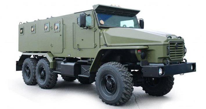 Бронеавтомобиль «Урал-ВВ»