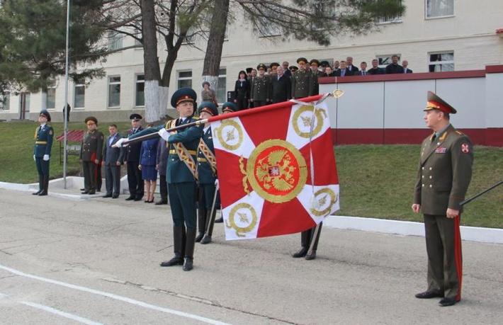 112-я крымская бригада Внутренних войск получила Боевое Знамя
