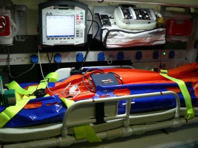В ВВО поставлены медицинские вертолётные модули