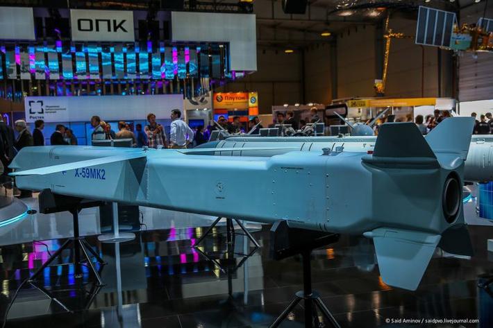 Проект модернизации управляемой ракеты Х-59МК2