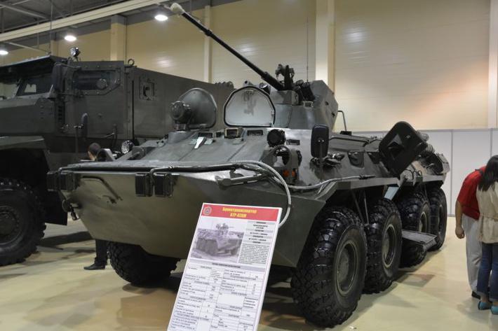 День инноваций ЮВО: бронетранспортер БТР-82АМ