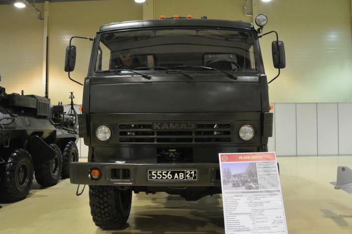 """В качестве базы для комплекса используется грузовое шасси марки """"КамАЗ"""""""