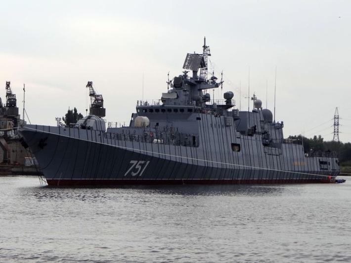 Экипаж «Адмирала Эссена» приступил к выполнению программы ходовых испытаний