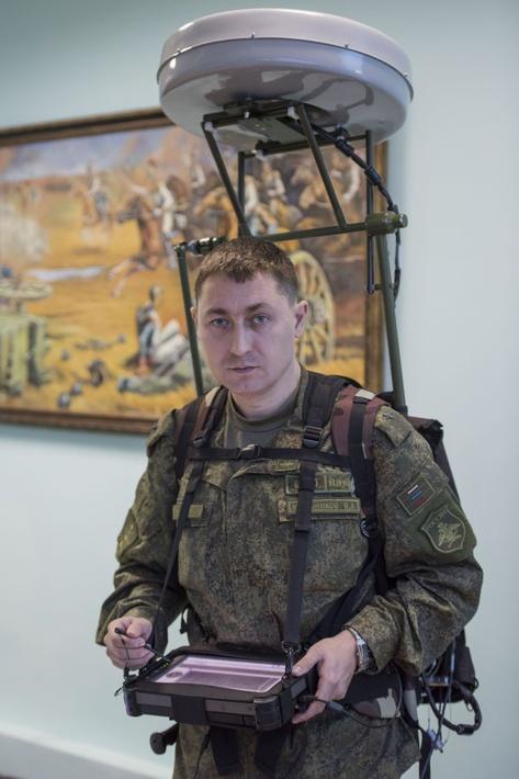 Военные специалисты продемонстрировали «мобильный обнаружитель»