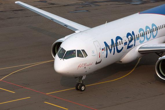 Семейство пассажирских узкофюзеляжных лайнеров МС-21 – гражданский проект корпорации «Иркут»
