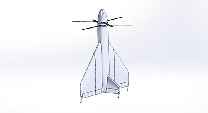 """Беспилотный летательный аппарат тейлситтер """"Фазан"""""""